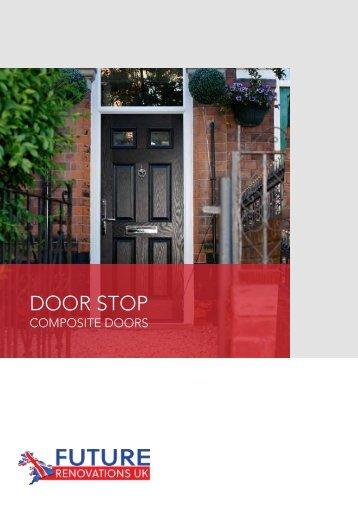 Door Stop Brochure A4
