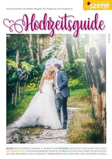 Hochzeits-Guide Augsburg 2018