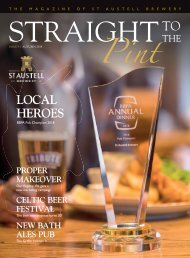 Straight To The Pint - Autumn 2018 - Issue 9