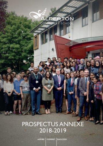 Prospectus Annexe 2018-19
