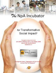 The Nonprofit Incubator