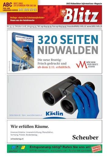 NW Blitz KW43 / 25.10.18