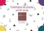 Catalogue de jouets 2018-2019