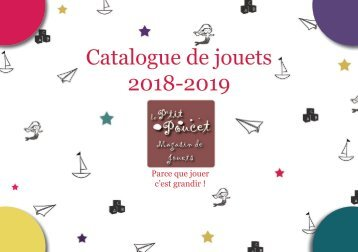 Catalogue de jouets 2018-2019