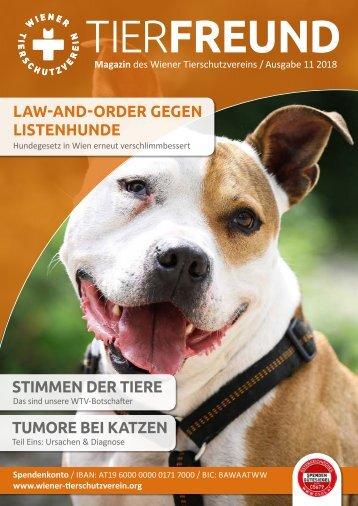 Tierfreund Ausgabe 11/2018