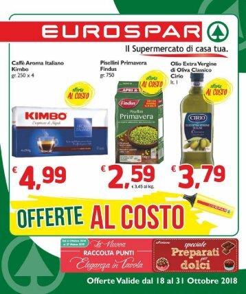 Eurospar S.Gavino 2018-10-18