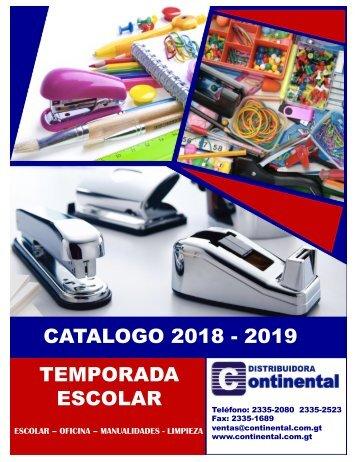 Catalogo Continental Escolar