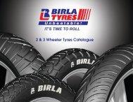 Birla Tyres Motorcycle Catalogue