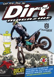 Dirt and Trail November 2018