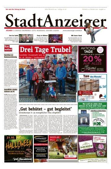 Stadtanzeiger Duelmen kw 43