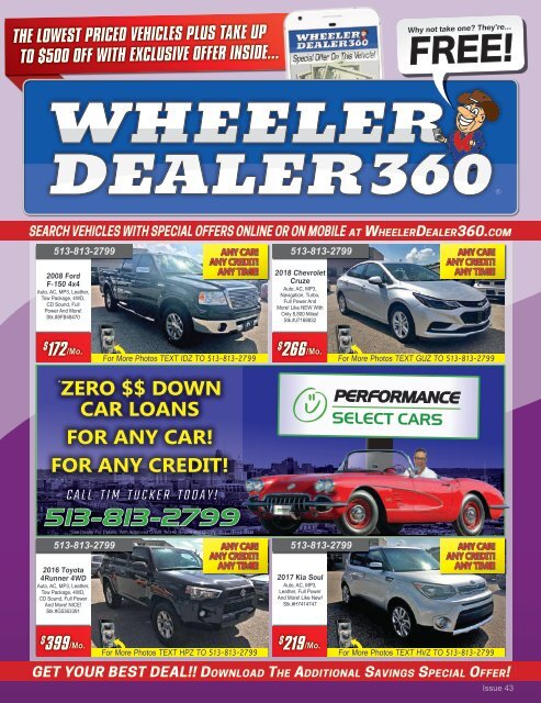 Wheeler Dealer 360 Issue 43, 2018