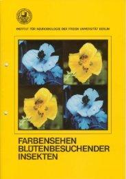 farbensehen blüten besuch en der insekten - Institut für Biologie und ...