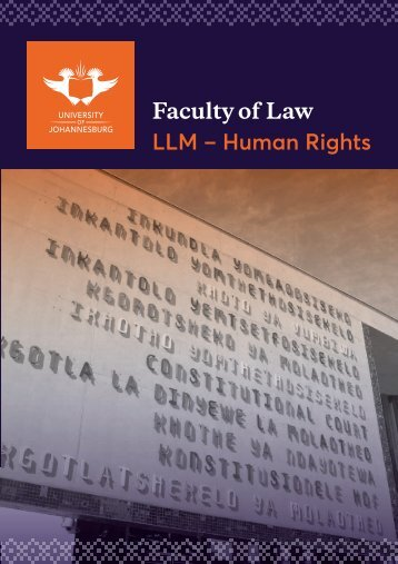 LLM Human Rights Oct 2018