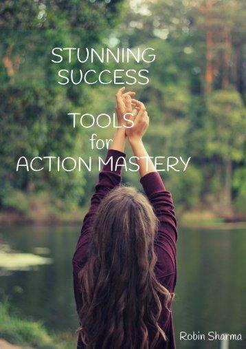 Robins sharma Tools for mastery