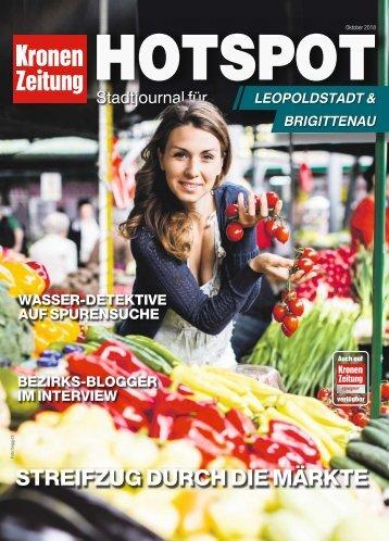 Hotspot Leopoldstadt & Brigittenau 2018-10-21