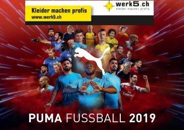 Puma - werk5 Teamsportkatalog 2018