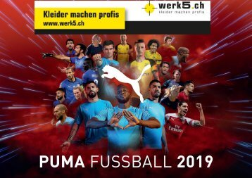 Puma - werk5 Teamsportkatalog 2019