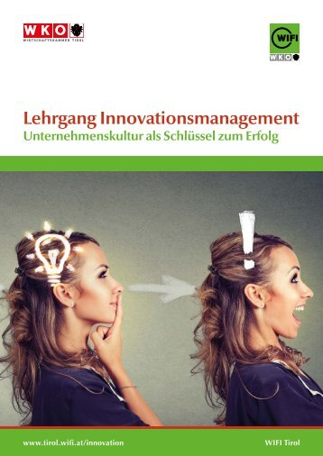 Lehrgang Innovationsmanagement