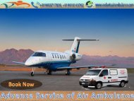 Comfort zone Air Ambulance Service in India