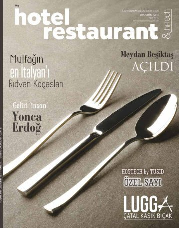 Hotel Restaurant  Magazine October 2018