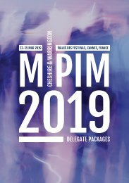 Cheshire and Warrington MIPIM M2019 Delegate Packages