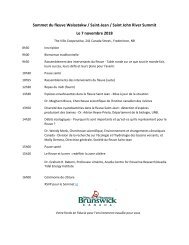 Sommet du fleuve Wəlastəkw / Saint-Jean / Saint John River Summit