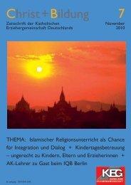 Christ+Bildung 7 - KEG