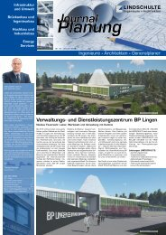 "LINDSCHULTE-Kundenzeitung ""Journal Planung"" 16/2018"