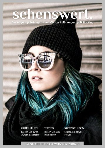 Sehenswert Magazin Loibl Herbst/Winter 18/19