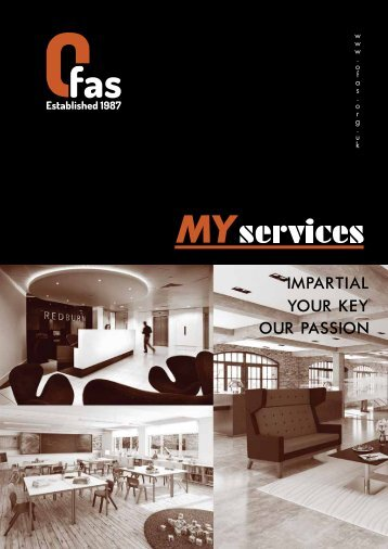 OFAS Email My Services Brochure Version