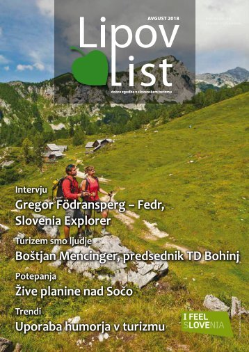 Revija Lipov list, avgust 2018