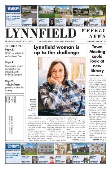 Lynnfield 10-25