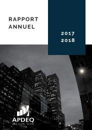 Rapport annuel 2017-2018 - ordre modifié des pages