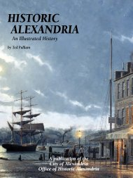Historic Alexandria: An Illustrated History