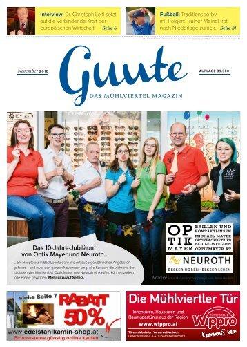 Guute November 2018