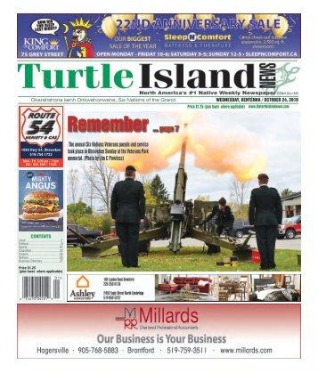Turtle Island News - 10/24/2018