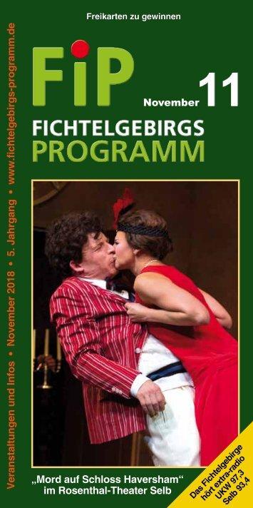 Fichtelgebirgs-Programm - November 2018