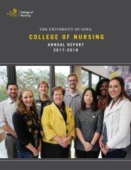 UIowa College of Nursing Annual Report 2017-2018