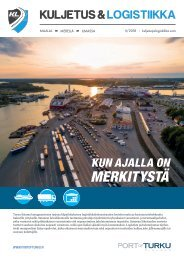 Kuljetus & Logistiikka 5 / 2018