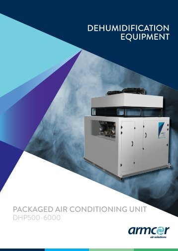Packaged air conditioning unit - Armcor Air Solutions
