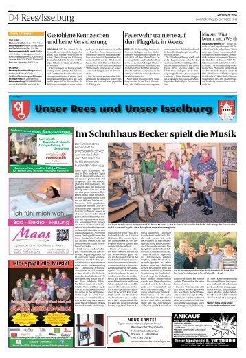 Unser Rees und Unser Isselburg  -25.10.2018-