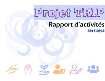 Rapport activités TRIP 2017-2018
