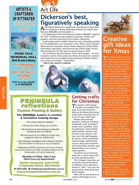 Pittwater Life November 2018 Issue