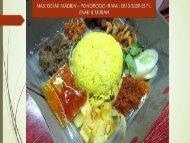 LENGKAP - TELP : 0897-7268-820 (Tri), Catering Pernikahan Sederhana Madiun