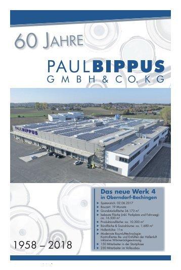 60  Jahre Paul Bippus GmbH & Co. KG