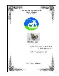Bài tiểu luận về nguyên tố Ni (2017) (SV QNU)