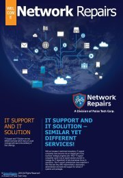 IT SUPPORT AND IT SOLUTION – SIMILAR YET DIFFERENT SERVICES