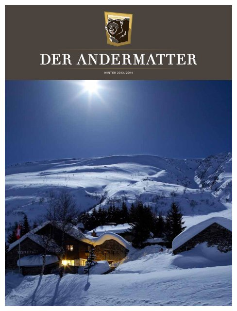DER ANDERMATTER Winter 2013
