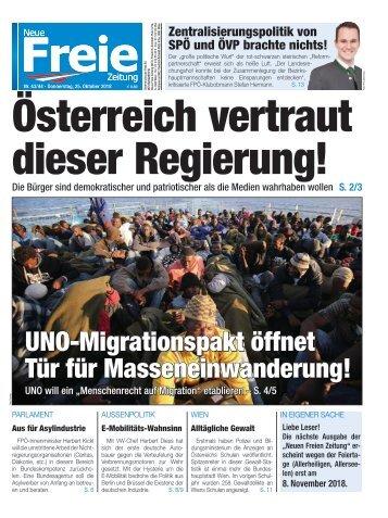 Österreich vertraut dieser Regierung