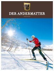 DER ANDERMATTER Winter 2015